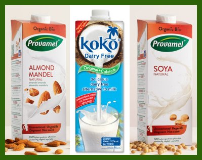 plant based milk alternatives