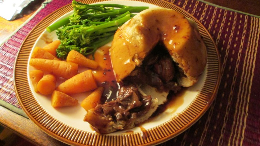 the best steak and kidney pudding on the planet
